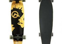 quest rorshack bamboo skateboard